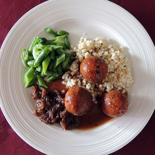 Photo of a main course example